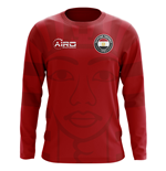 2018-2019 Egypt Long Sleeve Home Concept Football Shirt