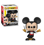 Mickey Maus 90th Anniversary POP! Disney Vinyl Figure Conductor Mickey 9 cm