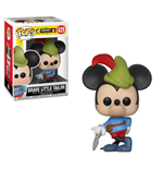 Mickey Maus 90th Anniversary POP! Disney Vinyl Figure Brave Little Tailor Mickey 9 cm