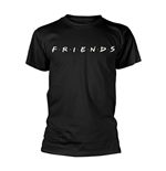 Friends T-shirt Logo (BLACK)