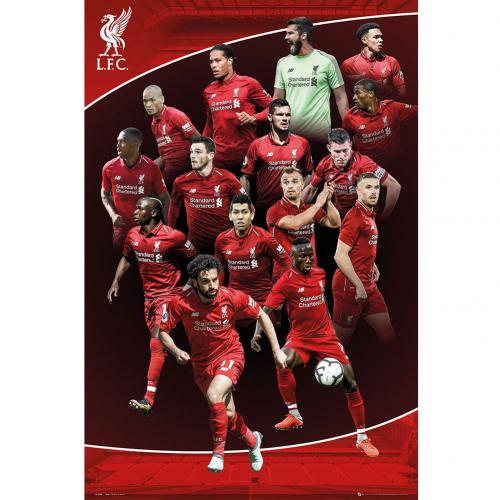 Liverpool F.C. Poster Players 23
