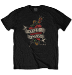 Nas Men's Tee: Love Tattoo