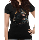 Crimes Of Grindelwald - Nifflers - Women Fitted T-shirt Black