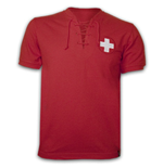 Switzerland WC 1954 Short Sleeve Retro Shirt 100% cotton