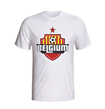 Belgium Country Logo T-shirt (white)