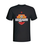 Belgium Country Logo T-shirt (black)