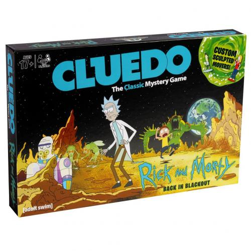 Rick And Morty Edition Cluedo