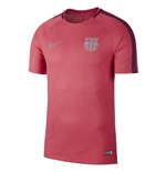 2018-2019 Barcelona Nike Pre-Match Dry Training Shirt (Tropical Pink)