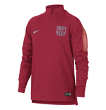 2018-2019 Barcelona Nike Drill Training Top (Tropical Pink) - Kids