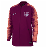 2018-2019 Barcelona Nike Anthem Jacket (Deep Maroon) - Kids