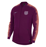 2018-2019 Barcelona Nike Anthem Jacket (Deep Maroon)