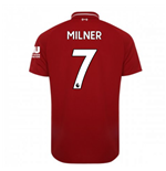 2018-2019 Liverpool Home Football Shirt (Milner 7) - Kids