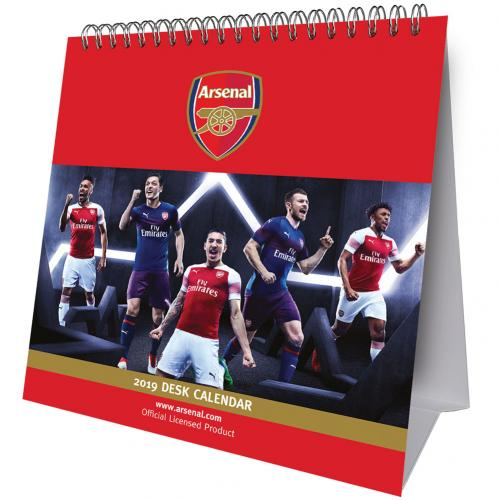 Arsenal F.C. Desktop Calendar 2019