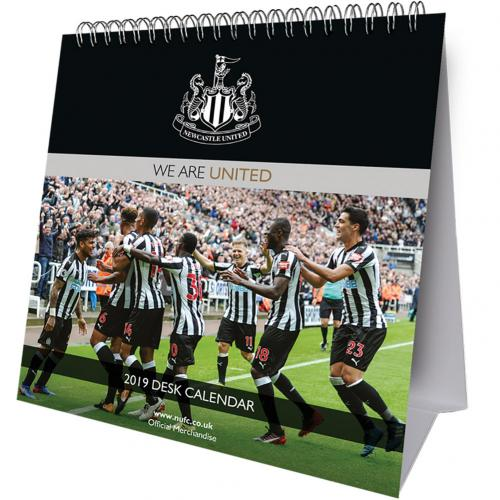 Newcastle United F.C. Desktop Calendar 2019