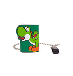Super Mario - Yoshi Tongue Tri-Fold Chain Wallet