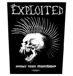 The Exploited Back Patch: Beat the Bastards