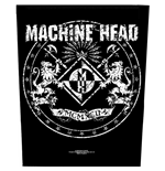Machine Head Back Patch: Crest