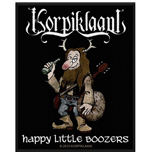 Korpiklaani Standard Patch: Happy Little Boozers (Loose)