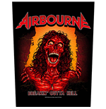 Airbourne Back Patch: Breakin' Outa Hell