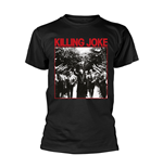 Killing Joke T-shirt Pope (BLACK)