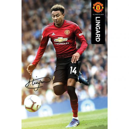 Manchester United F.C. Poster Lingard 51