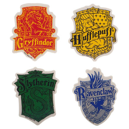 HARRY POTTER Hogwarts School Eraser Set