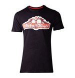 FALLOUT 76 Nuka World T-Shirt, Male, Small, Black