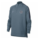 2018-2019 Chelsea Nike Drill Training Top (Teal) - Kids