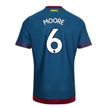 2018-2019 West Ham Away Football Shirt (Moore 6)