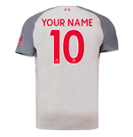 2018-2019 Liverpool Third Football Shirt (Your Name) -Kids