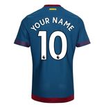 2018-2019 West Ham Away Football Shirt (Your Name)