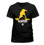 Harry Potter T-Shirt Sorted Hufflepuff