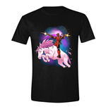 Deadpool T-Shirt Space Unicorn