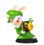 Mario + Rabbids Kingdom Battle PVC Figure Rabbid-Luigi 16 cm