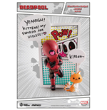 Marvel Comics Mini Egg Attack Figure Deadpool Jump Out 4th Wall 12 cm