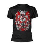 Halestorm T-shirt Feather Skull