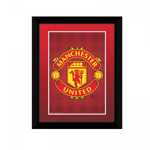 Manchester United F.C. Picture Crest 8 x 6