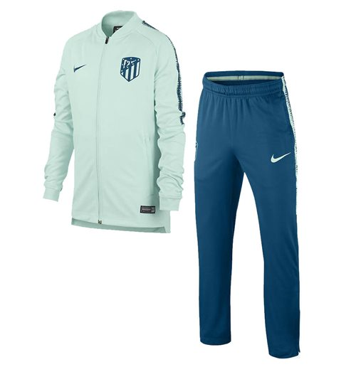 2018-2019 Atletico Madrid Nike Squad Knit Tracksuit (Igloo)