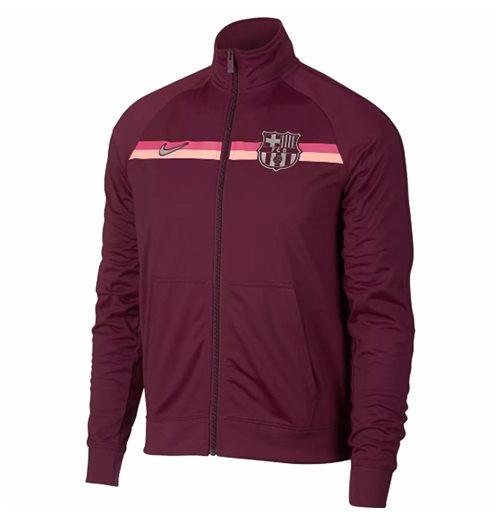buy online e3cd9 cf369 2018-2019 Barcelona Nike Core Trainer Jacket (Maroon)