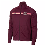 2018-2019 Barcelona Nike Core Trainer Jacket (Maroon)