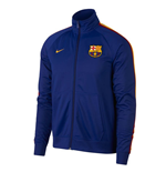 2018-2019 Barcelona Nike Core Trainer Jacket (Blue)