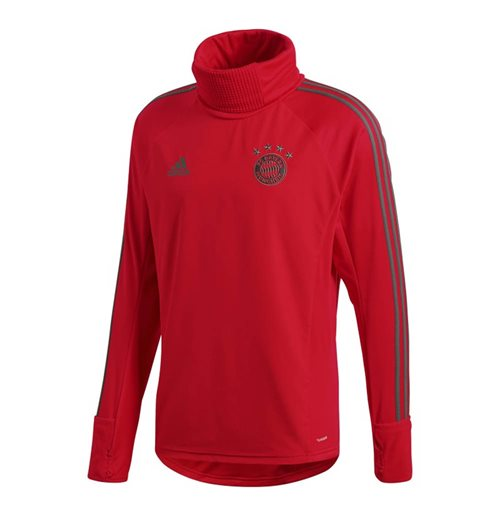 2018-2019 Bayern Munich Adidas Warm Top (Red)