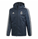 2018-2019 Real Madrid Adidas Winter Jacket (Onix)