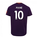 2018-2019 Liverpool Away Football Shirt (Mane 10) - Kids