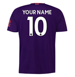 2018-2019 Liverpool Away Football Shirt (Your Name)