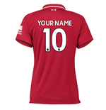 2018-2019 Liverpool Home Ladies Football Shirt (Your Name)