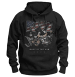 KISS Unisex Pullover Hoodie: Made in the USA