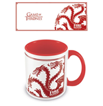 Game of Thrones Coloured Inner Mug Targaryen