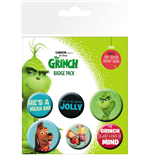 The Grinch (2018) Pin Badges 6-Pack Mix