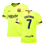2018-19 Barcelona Away Shirt (Coutinho 7) - Kids
